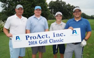 2018 ProAct Golf Classic Winners