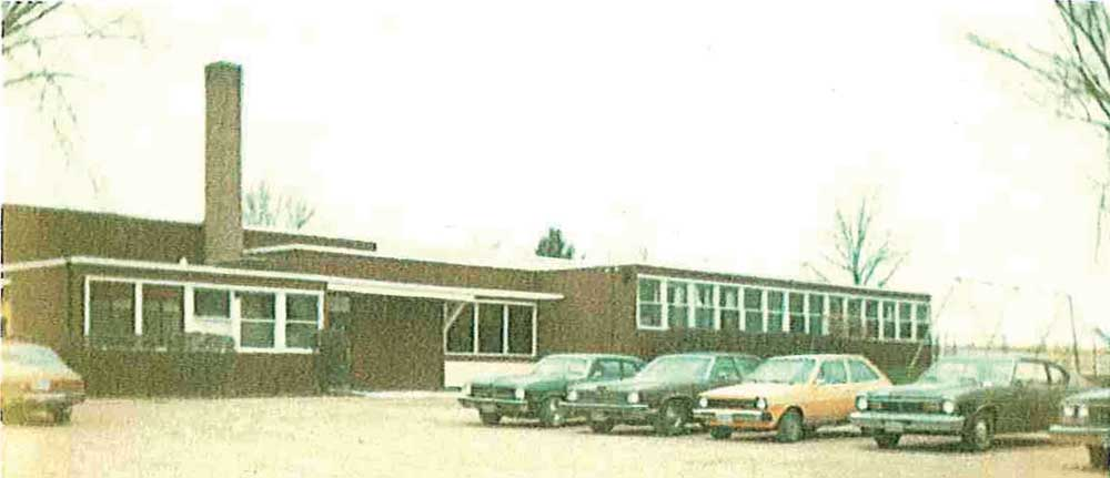 This New Options/Scott County DAC had used this former Jordan elementary school building in Lydia in the late 1970s near Minnesota Highway 13 and Scott County Road 10.
