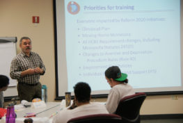 ProAct offers training in Person-Centered Thinking and Practices
