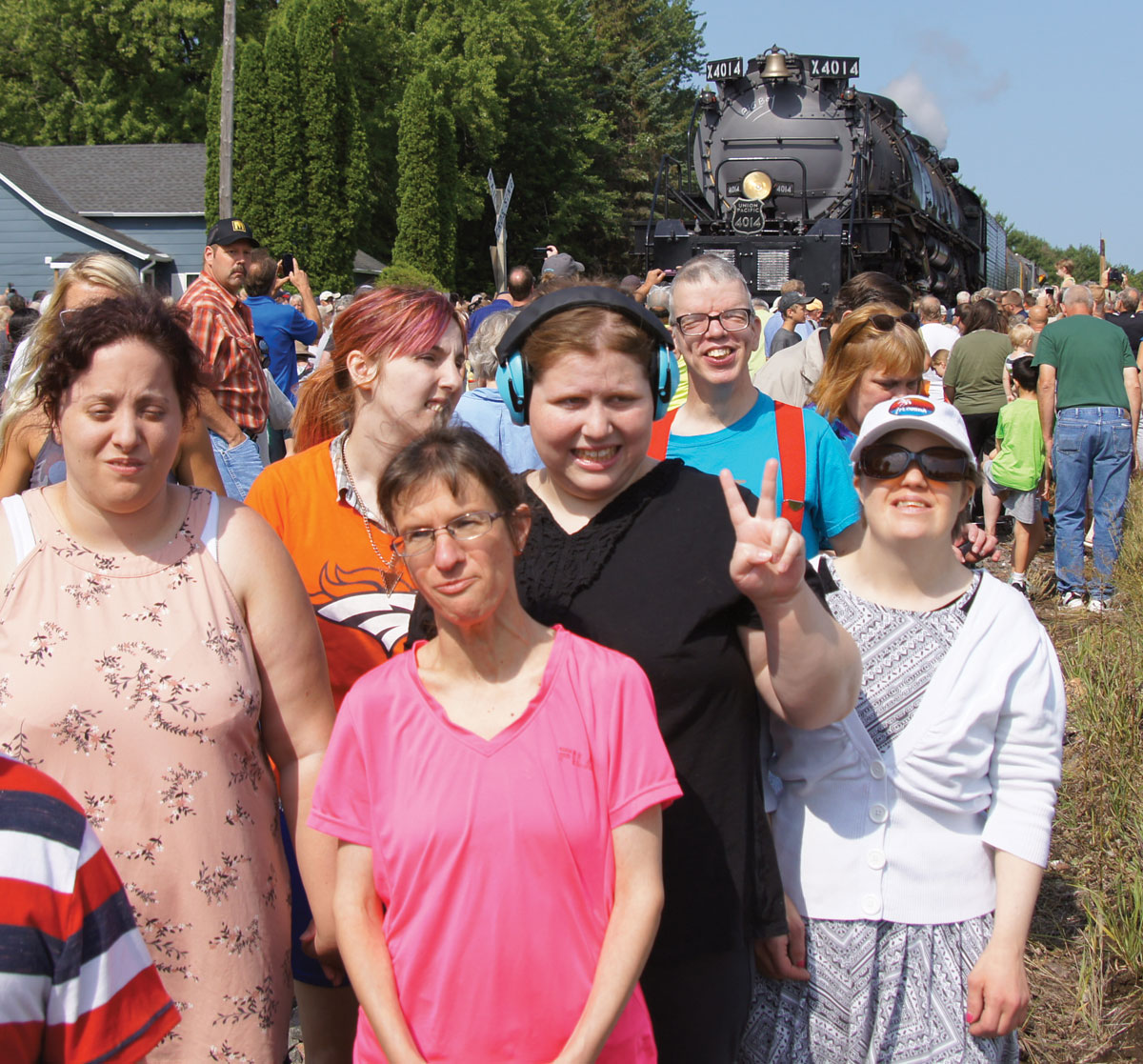 'Big Boy' steam train dazzles in Baldwin