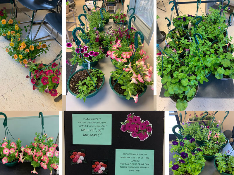 ProAct Shakopee Virtual May Day Flower Sale – and more