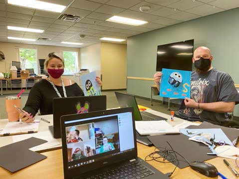 ProAct celebrated its one-year  anniversary of Virtual Enrichment service