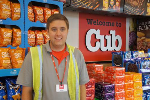 Nolan at Cub Foods
