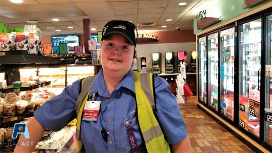 Independent, leading, top of her game at Kwik Trip